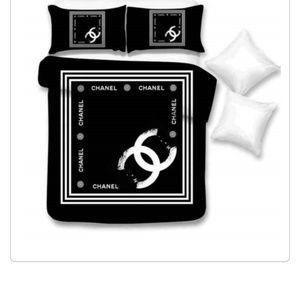 Chanel logo bedset